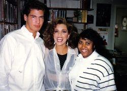 Rachell, Gill & Vanessa Williams